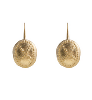 EARRINGS  WARRIOR GOLD