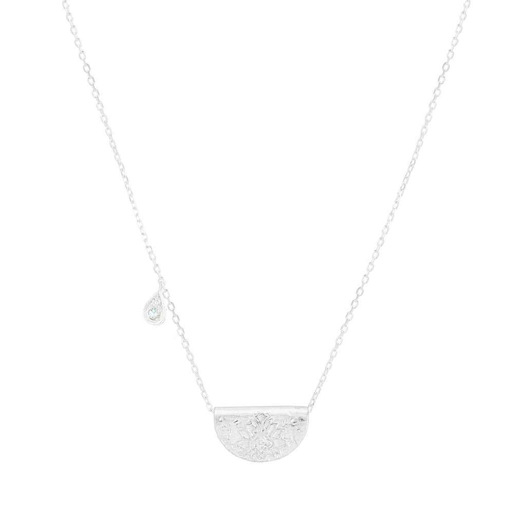 CALM YOUR SOUL - MARCH - NECKLACE SILVER