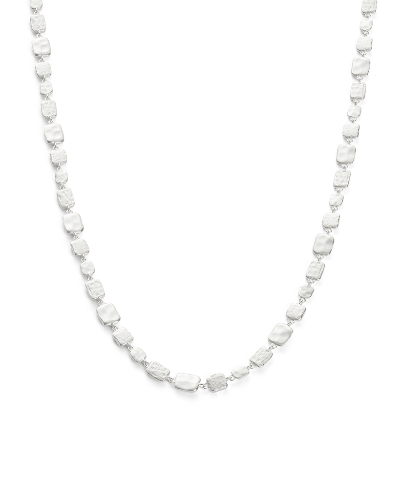 CASCADE NECKLACE (STERLING SILVER)