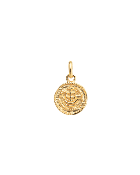 LOST TREASURE COIN (18K-GOLD-VERMEIL)