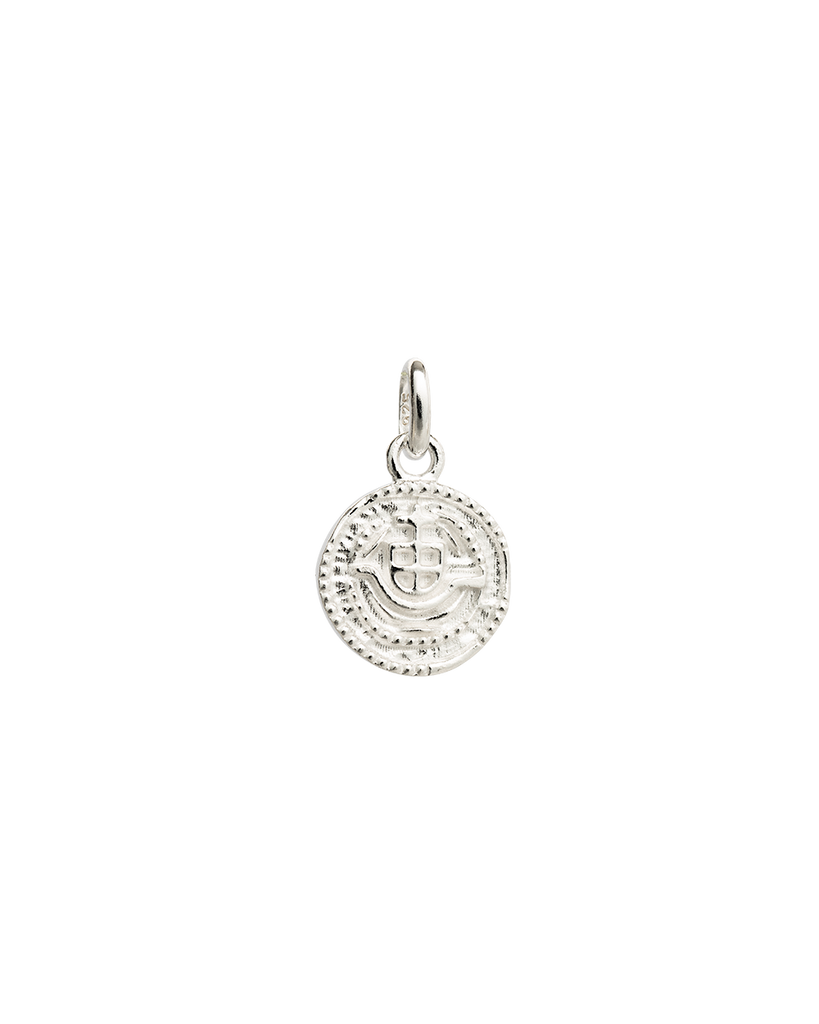LOST TREASURE COIN (STERLING SILVER)