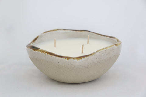 Mist Green Ceramic Candle Cup