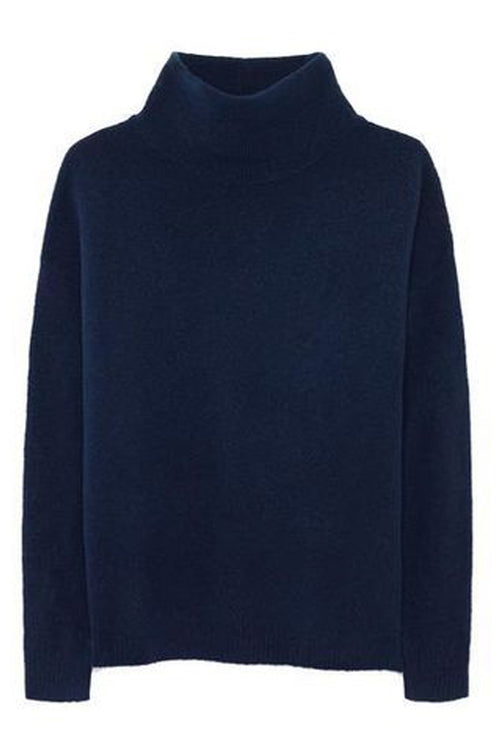 American Vintage Turtle Neck Jumper in Night