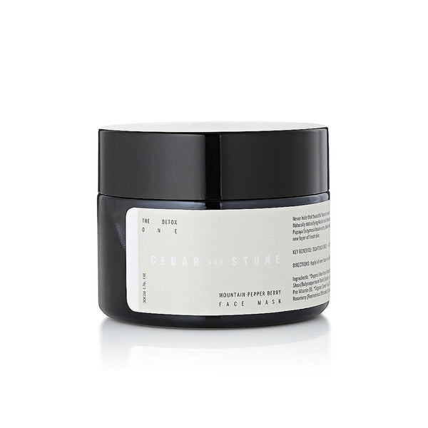 Mountain Pepper Berry and Papaya Mask