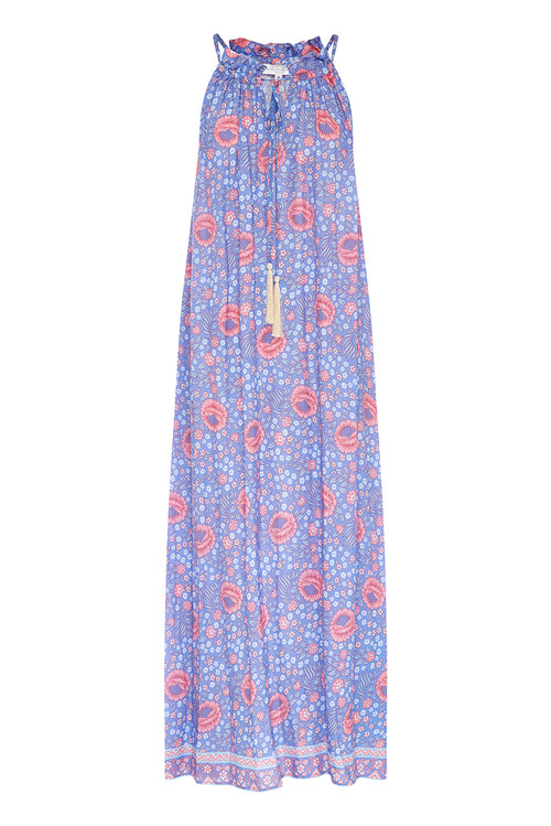 Vikki Maxi Dress (Blue)