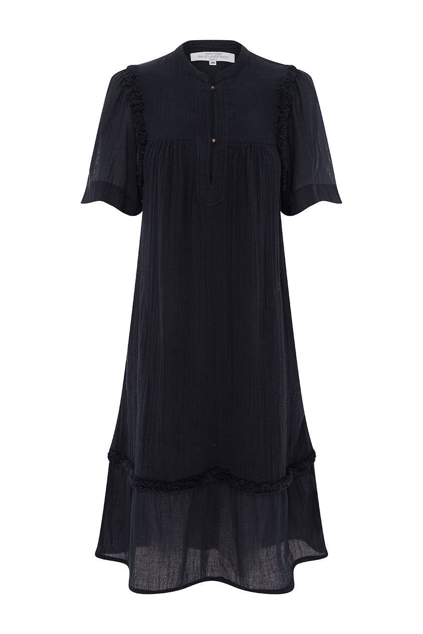 Navy Monterey Dress