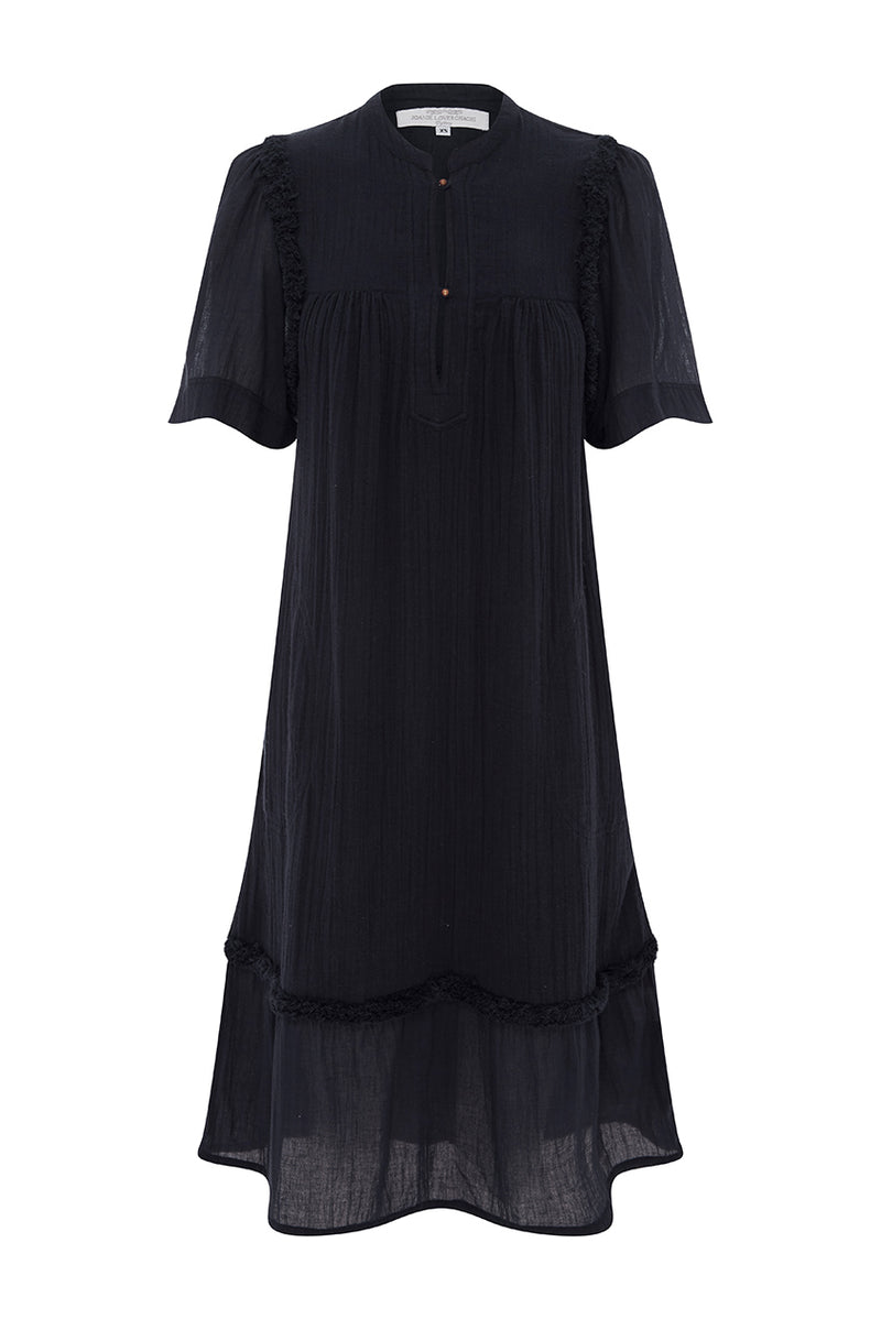 Navy Monterey Dress (XS)