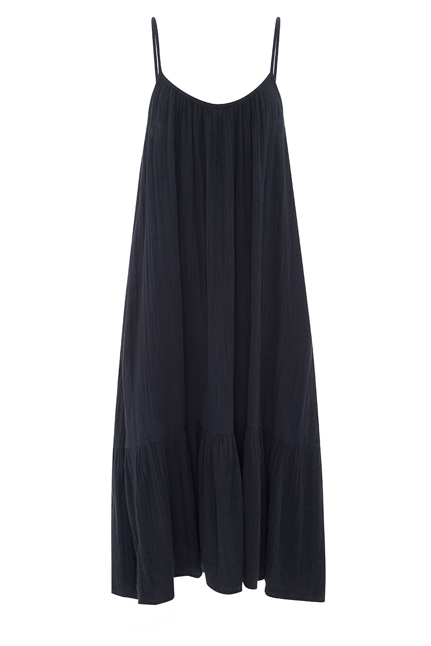 Navy Baja Maxi Dress