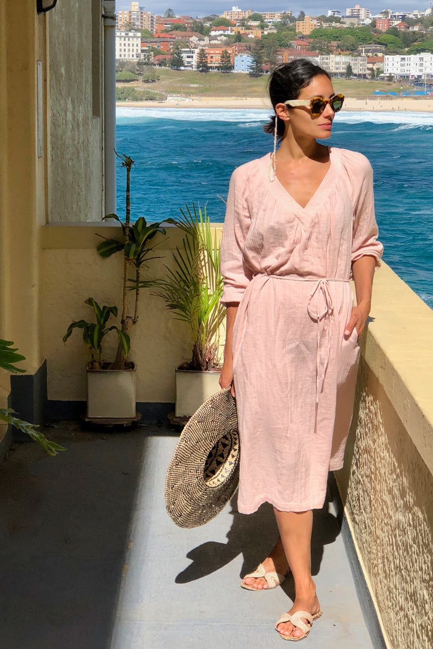 Dusty Pink Laguna Dress