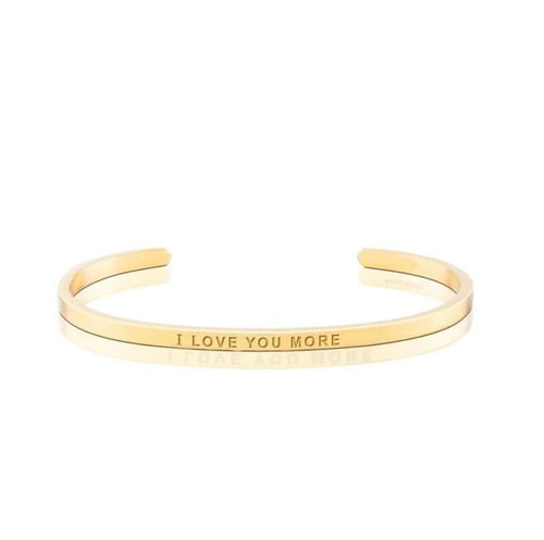 'I love you more' Bangle