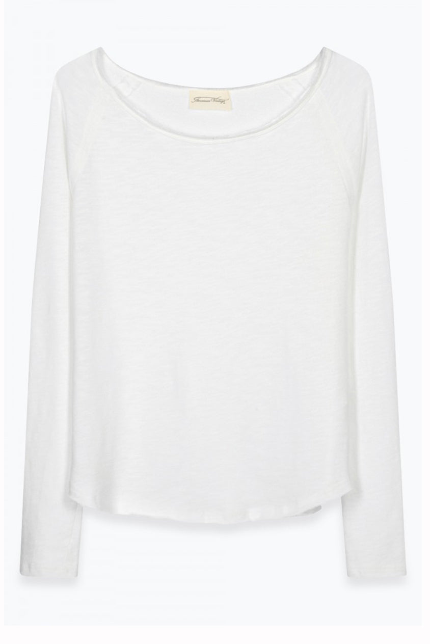Lightweight Sweat in White