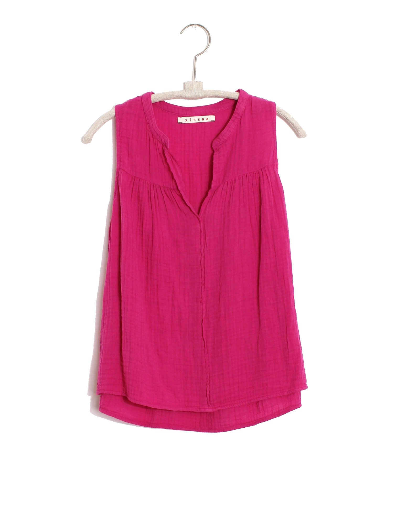 XiRENA Lipstick Pink Carrie Top (Small)