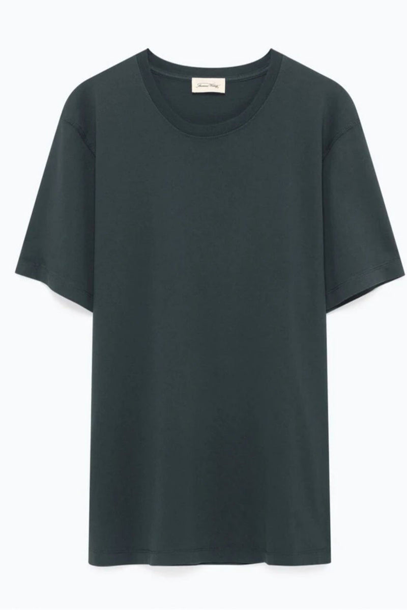 Carbon Oversized Round Neck Tee