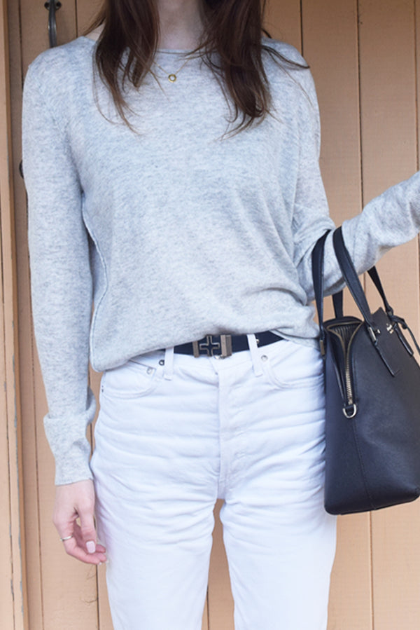 Grey Marle Everyday Sweater
