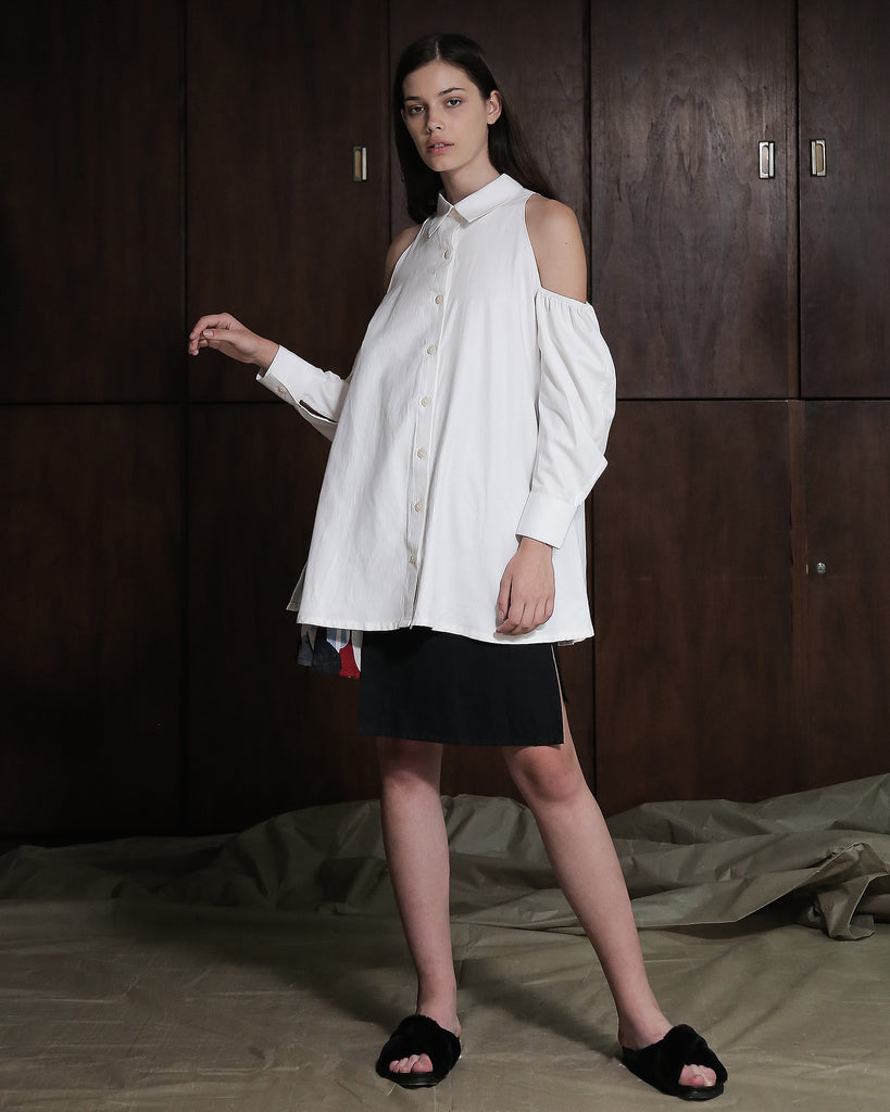 FADA SHIRT DRESS - ZHETTOVA Studio