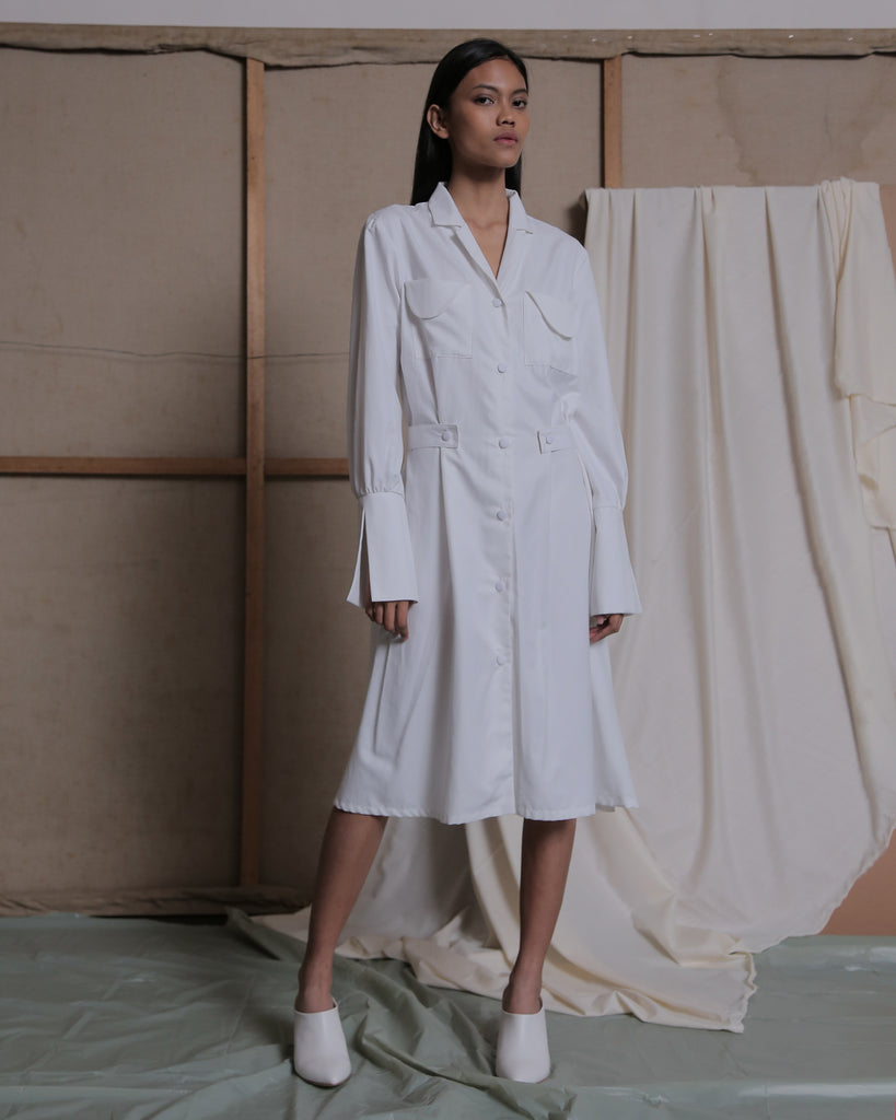 STAVA SHIRT DRESS - ZHETTOVA Studio