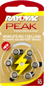 Rayovac Peak Performance Size 10 Disposable Battery