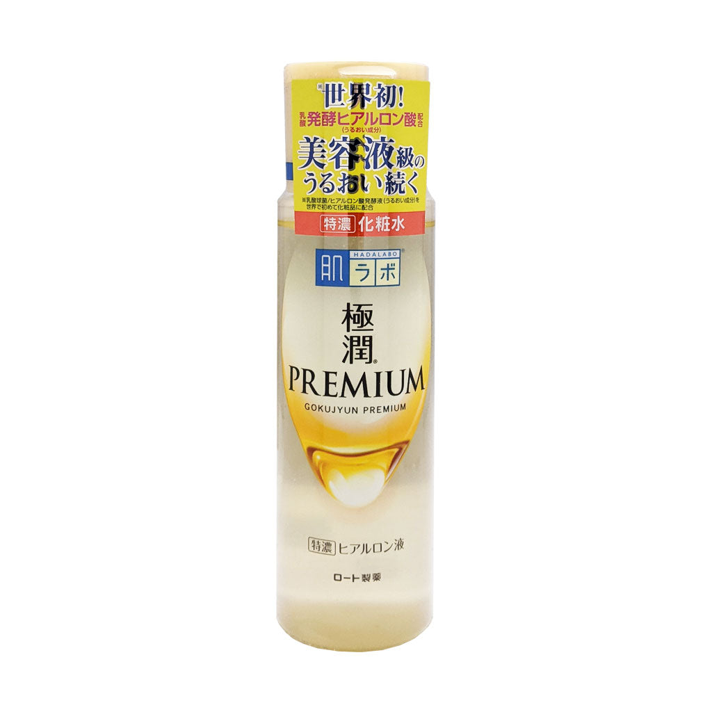 Hada Labo Gokujyun Premium Hyaluronic Lotion New Formula-Keshoume-Japanese beauty products-skincare-hyaluronic acid- gokujyun-Rohto-lotion