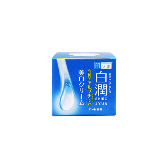 Rohto Hada Labo Shirojyun Gel Cream-Keshoume-Japanese beauty products-skincare-gel cream-moisturizer-arbutin-anti aging