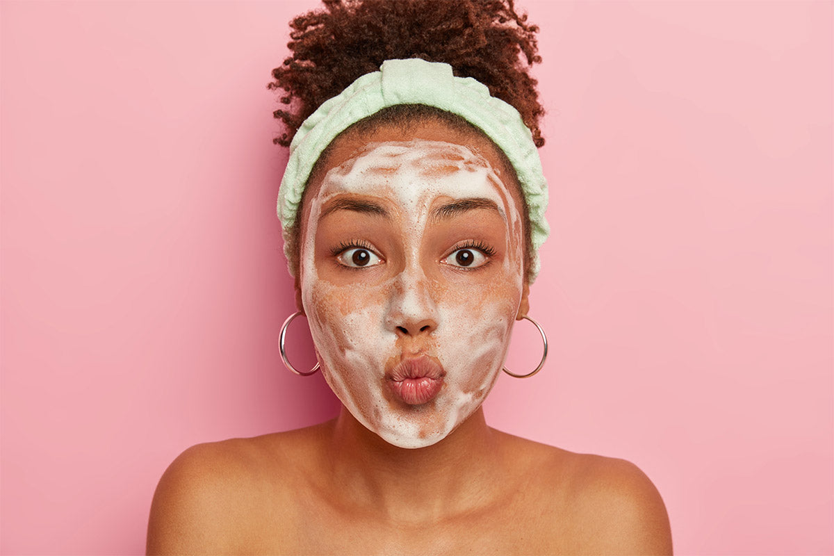 Why Should You Create Foam With Your Facial Cleanser?