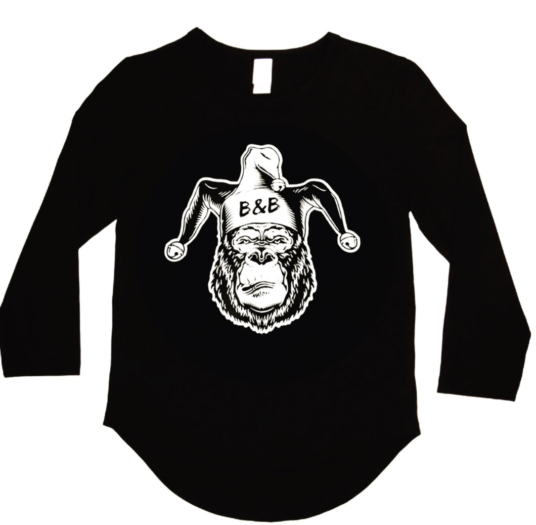 Joker swing back Long sleeve tee