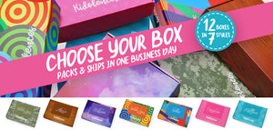 Choose Your Box, packs and ships in one business day