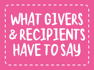 What givers and recipients have to say about Kidolences