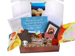 Pet Loss Care Box from Kidolences