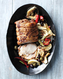 Recipe: Roast Pork with Fennel, Chiles and Olives
