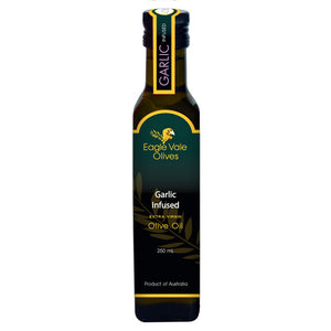 Garlic Infused Australian Extra Virgin Olive Oil (250Ml)