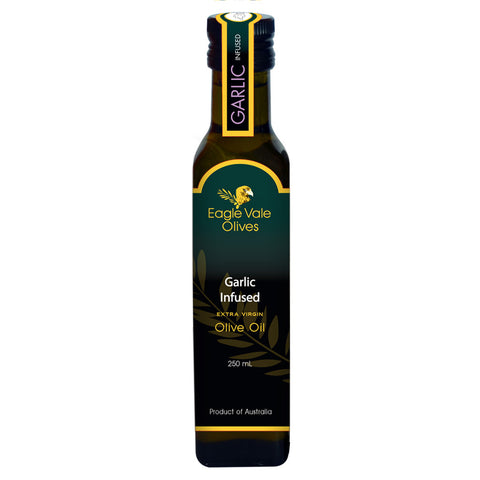 Eagle Vale Olives Australia Best Garlic Infused Extra Virgin Olive Oil 250ml bottle