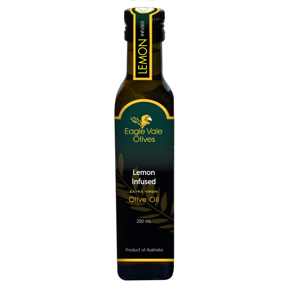 Lemon Infused Australian Extra Virgin Olive Oil (250Ml)