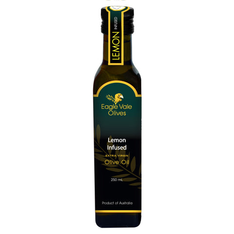 Eagle Vale Olives Australia Best Lemon Infused Extra Virgin Olive Oil 250ml bottle