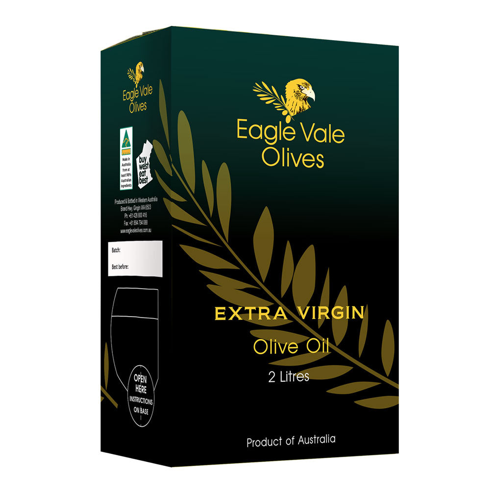 100% Cold Pressed Australian Extra Virgin Olive Oil (2L)