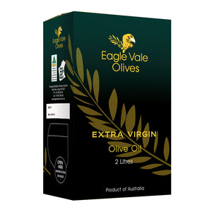 Eagle Vale Olives Australia Best 100% Cold Pressed Extra Virgin Olive Oil 2L Cask