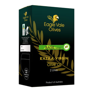 Basil Infused Australian Extra Virgin Olive Oil (2L)