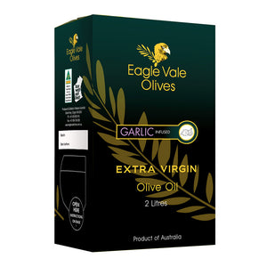 Garlic Infused Australian Extra Virgin Olive Oil (2L)