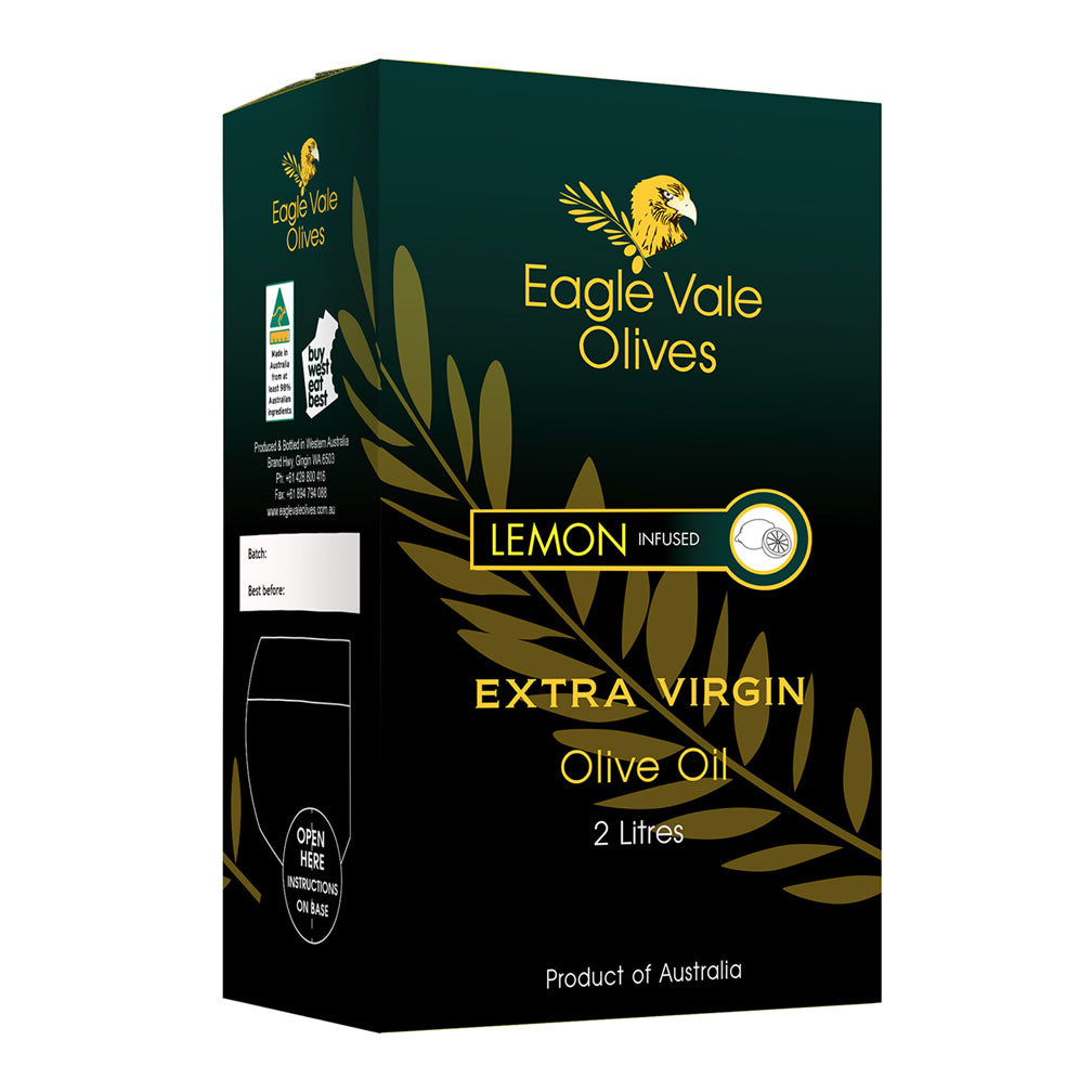 Lemon Infused Australian Extra Virgin Olive Oil (2L)