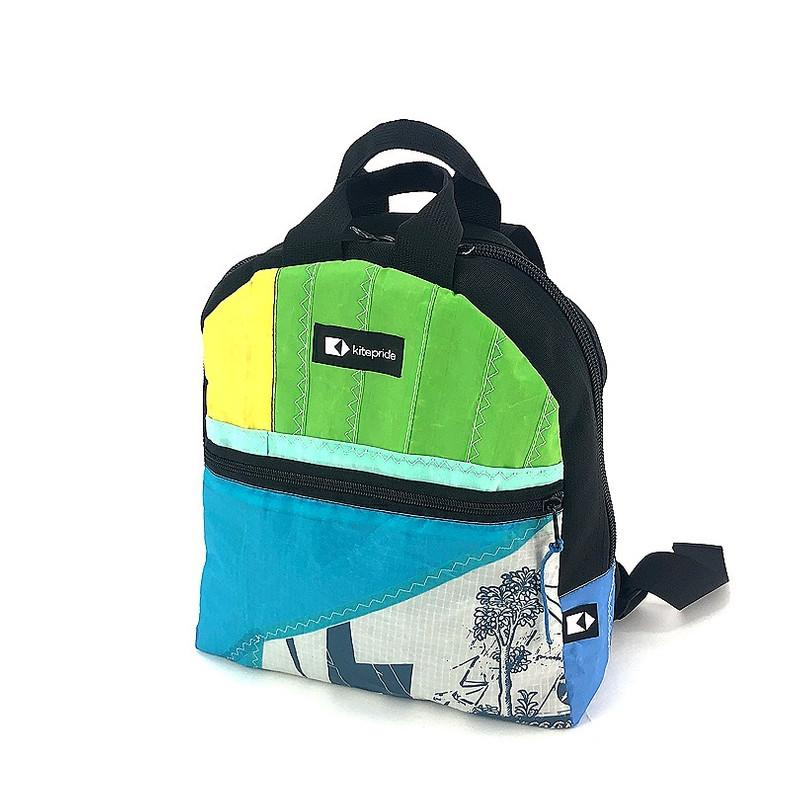 This upcycled KitePride stylish, handmade in Tel Aviv CityLiner Backpack is designed to fill your everyday needs with an added social and environmental impact.