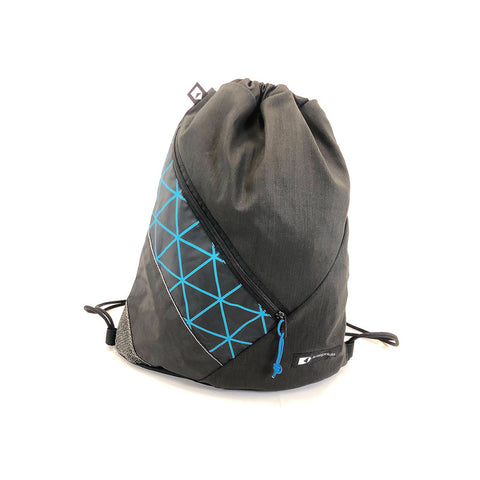 An upcycled KitePride stylish, handmade in Tel Aviv Drawstring designed to fill your everyday needs with a social and environmental impact.