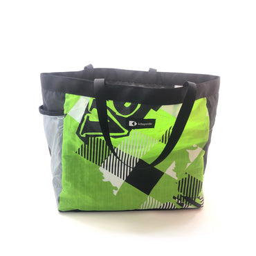 Upcycled Kite KitePride Grande Tote Bag