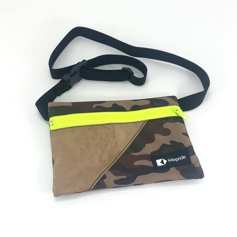 This upcycled KitePride stylish, handmade in Tel Aviv Fanny Pack is designed to fill your everyday needs with an added social and environmental impact.