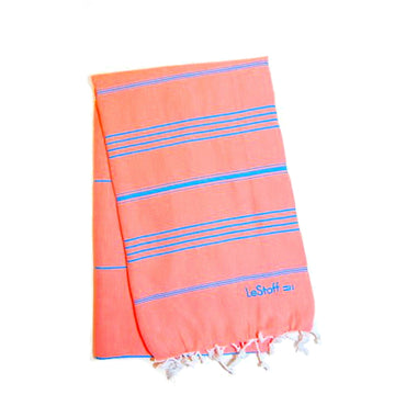 LeStoff Towel - Salmon Blue