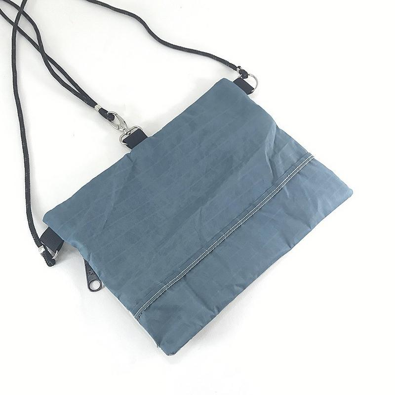A handy handmade, upcycled and super practical little pouch for anything.