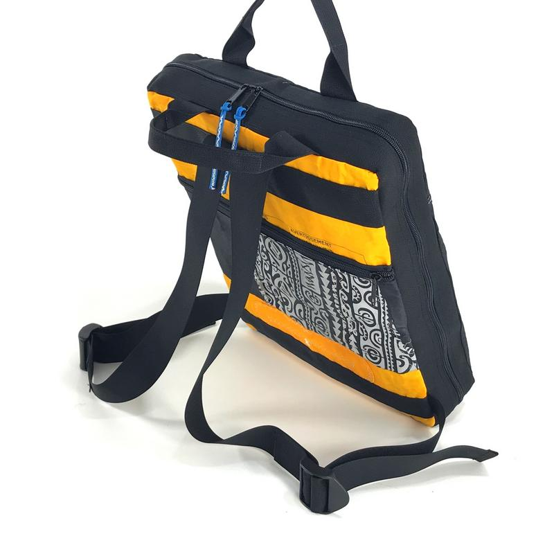 A stylish, handmade, upcycled and very practical bag designed to fill your everyday needs.