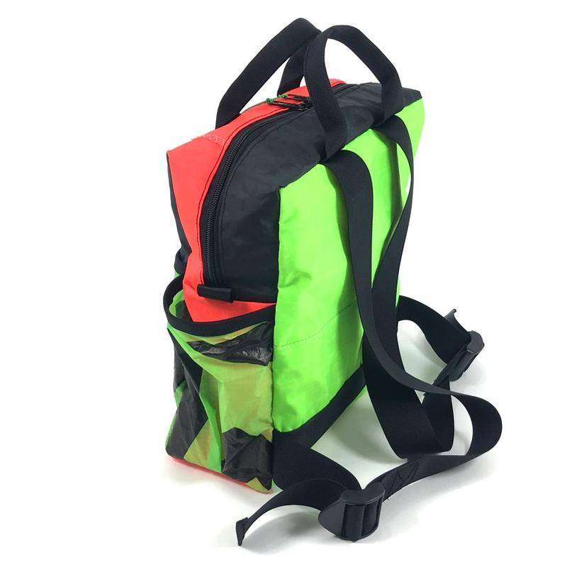 A stylish, handmade, upcycled and very practical backpack designed to fill your everyday needs.