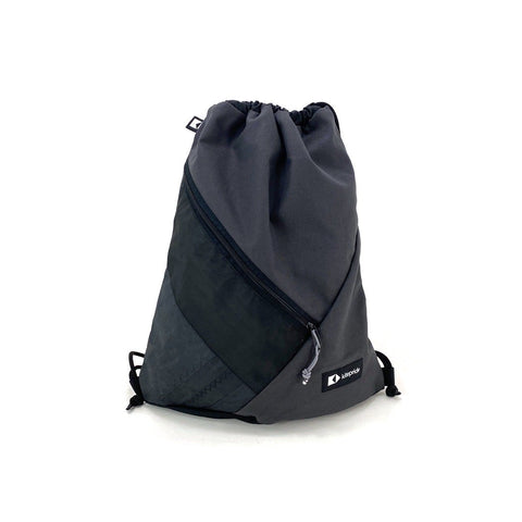 Drawstring Bag - Gray - kite.pride