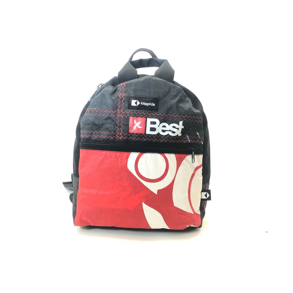 Upcycled kite KitePride CityLiner Backpack