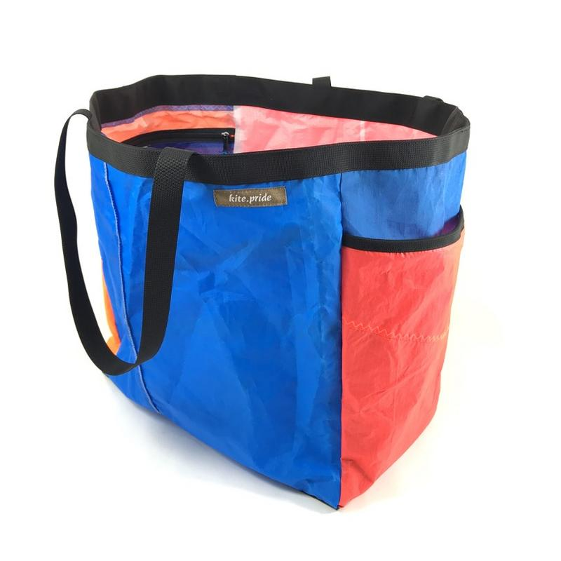 A stylish, handmade, upcycled tote bag to make your life more fun.