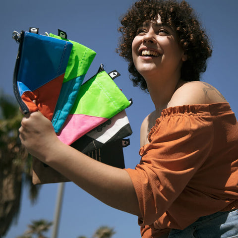 KitePride Upcycled Kite Pencil Case